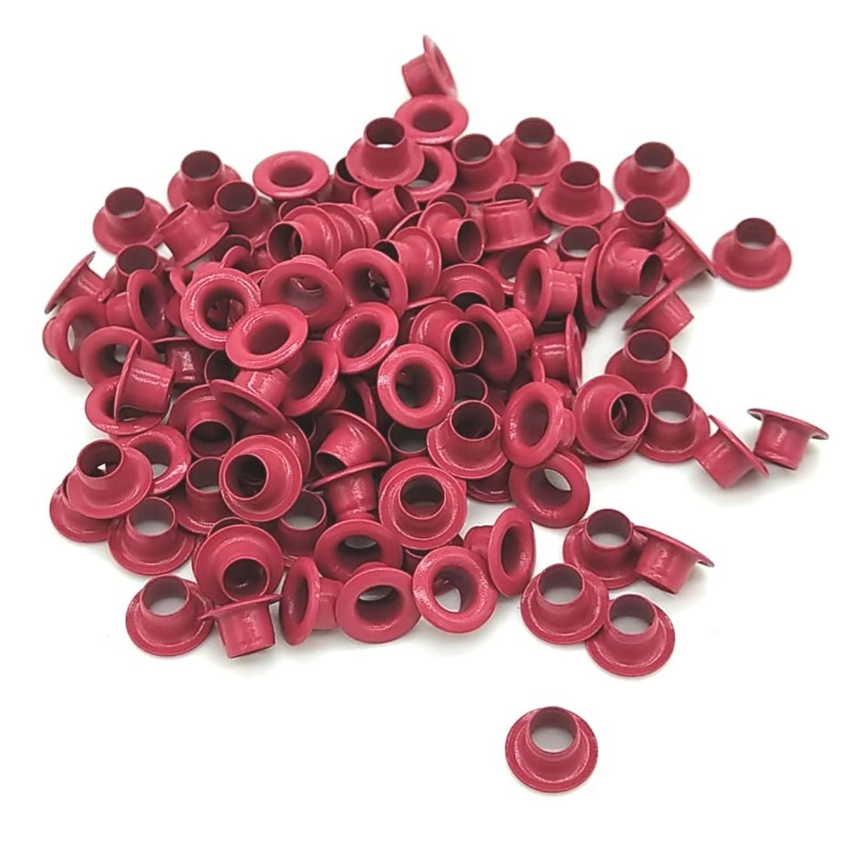 Ilhós Nº 54 Alumínio 8mm Externo Pink
