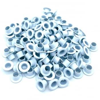 Ilhós Nº 51 Aluminio 9,50mm externo Branco