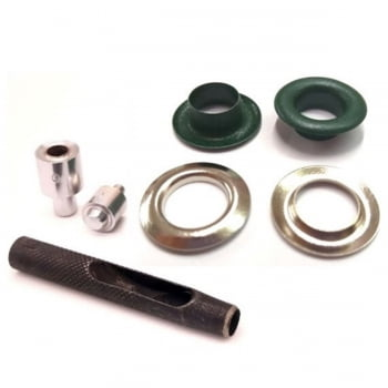Kit básico para aplicar ilhós nº 0 de Ferro