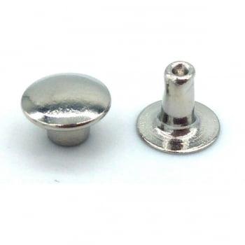 Rebite Nº 3 Ferro Niquelado 10,20mm