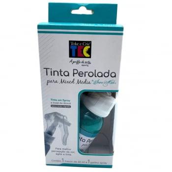 Tinta Perolada Mixed Media By Ivana Madi Turquesa